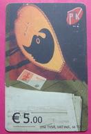 7 Edition Kosovo CHIP Phonecard, 5 Euro. Operator VALA, *Cifteli Turkish Instrument*, RARE, A1PTK 00700236 - Kosovo
