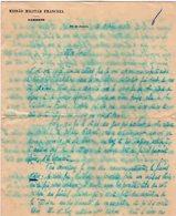 VP13.095 - Brésil - Missao Militar Franceza à RIO DE JANEIRO 1926 - 2 Lettres De Mr ?? Pour Mr Le Général GAMELIN - Documents