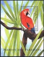 Bloc Sheet Oiseaux Perroquets Birds Parrots Neuf  MNH **  Grenada 2000 - Papagayos