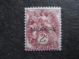 TB Timbre D'Andorre N°3, Neuf X. - Neufs
