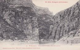 Espagne > Aragón >  El Alto Aragon Pintoresco N° 16 El Entremon Salida Del Rio Cinca Cerca De Ligüerre - Espagne