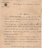 VP13.096 - Brésil - Missao Militar Franceza à RIO DE JANEIRO 1925 -  Lettre De Mr ?? Pour Mr Le Général GAMELIN - Documenti