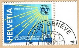 .U.I.T.TIMBRE OBLITERE 1er/J.17.5.1994. C/.S.B.K. Nr:15. Y&TELLIER Nr:469. MICHEL Nr:15. - Service