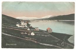 POSTCARD OF AKUREYRI - ICELAND , 1908 . - Islande