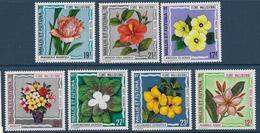 WALLIS - YVERT N° PA 49/55 ** MNH - COTE = 32.5 EUR. - FAUNE ET FLORE - - Wallis-Et-Futuna