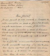 VP13.097 - Brésil - Mission Militaire Française à RIO DE JANEIRO 1925 -  Lettre Du Cdt DUMA Pour Mr Le Général GAMELIN - Documents
