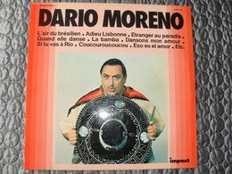Disque Vinyle 33 T DARIO MORENO L'air Du Brésilien, Si Tu Vas à Rio Label Impact - Vinyl Records