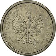 Monnaie, Pologne, 10 Groszy, 2003, Warsaw, TTB, Copper-nickel, KM:279 - Polonia