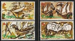 1990-ED.3079 A 82--V CENTENARIO DESCUBRIMIENTO DE AMERICA.VIAJES-SERIE COMPLETA-USADO - 1931-Hoy: 2ª República - ... Juan Carlos I