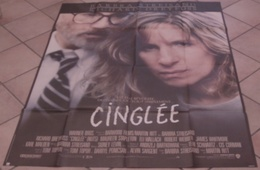 AFFICHE CINEMA ORIGINALE FILM CINGLEE + 10 PHOTOS EXPLOITATION Barbra STREISAND RITT DREYFUSS 1987 TBE - Posters