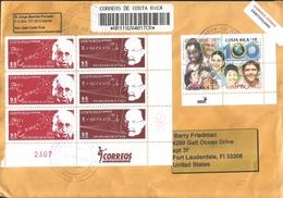 J) 2005 COSTA RICA, 100 YEARS OF THE PAN AMERICAN HEALTH ORGANIZATION, WORLD PHYSICS YEAR, ALBERT EINSTEIN, MAX PLANCK, - Costa Rica