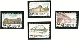1991-ED.3100a03-EXPO.'92. SEVILLA-SERIE COMPLETA-NUEVO- - 1991-00 Unused Stamps