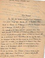 VP13.100 - Brésil - Mission Militaire Française à RIO DE JANEIRO 1925 - Lettre De Mr COLIN ? Pour Mr Le Général GAMELIN - Documents