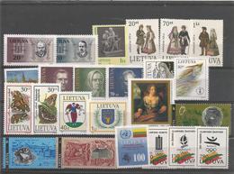 LT 1992 LOT OF Litauen - Lithuania, MNH - Lituanie