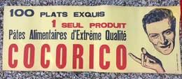 Affiche Ancienne Pâtes Alimentaires Cocorico ( Bédarrides )  ( Impr. De L'éveil, Le Puy ) - Affiches