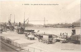 Dépt 44 - NANTES - Vue Générale Du Port Prise Du Quai D'Aiguillon - Déménagements Alfred CHANTREAU - Nantes