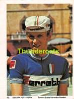 CHROMO VIGNETTE CYCLISME 8 Cm X 6 Cm  No  GOESTA PETTERSON SUEDE SWEDEN - Wielrennen