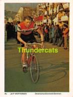 CHROMO VIGNETTE CYCLISME 8 Cm X 6 Cm  No  45 LEIF MORTENSEN DANMARK DENMARK - Cyclisme