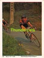 CHROMO VIGNETTE CYCLISME 8 Cm X 6 Cm  No  69 WILLY IN 'T VEN BELGIE BELGIQUE - Cyclisme