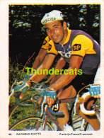 CHROMO VIGNETTE CYCLISME 8 Cm X 6 Cm  No  40 RAYMOND RIOTTE FRANCE - Cyclisme