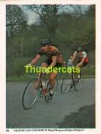 CHROMO VIGNETTE CYCLISME 8 Cm X 6 Cm  No  68 GEORGE VAN CONINGSLO BELGIE BELGIQUE - Radsport