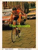CHROMO VIGNETTE CYCLISME 8 Cm X 6 Cm  No  67 ROGER ROGIERS BELGIE BELGIQUE - Cyclisme