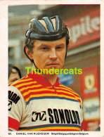 CHROMO VIGNETTE CYCLISME 8 Cm X 6 Cm  No  62 DANIEL VAN RIJCKEGEM  BELGIE BELGIQUE - Cyclisme