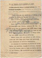 VP13.101 - Brésil - Escola De ? à RIO DE JANEIRO 1948 - Lettre De Mr ?? Pour Mr Le Général GAMELIN - Documenti