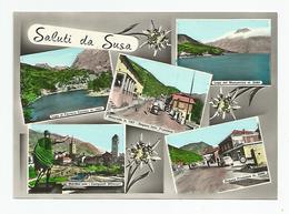 Douane Dogana Italo Francese Multi Vues Saluti Da Susa - Dogana