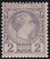 Monaco   .   Yvert    2    .     *      .      Neuf Avec  Charniere   .    /    .     Mint-hinged - Monaco