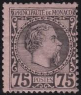 Monaco   .   Yvert    8  ( 2 Scans )    .     *      .      Neuf Avec  Charniere   .    /    .     Mint-hinged - Monaco