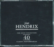 JIMI HENDRIX – THE GOLD COLLECTION 40 CLASSIC PERFORMANCES – 2 CD – 1995 – RETRO/IREC – Made In Italy - Rock