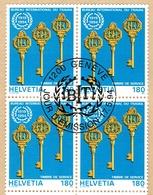 .B.I.T. BLOC DE 4 OBLITERE 1er/J.17.5.1994. C/.S.B.K. Nr:111. Y&TELLIER Nr:468. MICHEL Nr:110. - Service