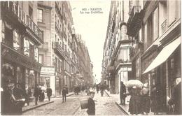"""Dépt 44 - NANTES - La Rue Crébillon - (à Gauche : Chaussures """"INCROYABLE"""" Paris) + Cravates MÉLIA - Nantes"""