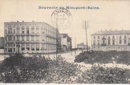 Souvenir De Nieuport-Bains - 1910 - Phototypie Marco Marcovici, Brussel - Nieuwpoort