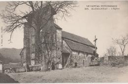 15 - MARMANHAC - L'Eglise (impeccable) - Frankrijk