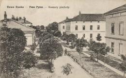 T2/T3 Rava-Ruska, Rawa Ruska; Koszary Piechoty / Austro-Hungarian K.u.K. Military Infantry Barracks (EK) - Postcards