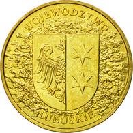 Monnaie, Pologne, Lubuskie District, 2 Zlote, 2004, Warsaw, TTB, Laiton, KM:486 - Polonia