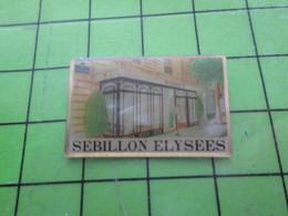 1518c Pin's Pins / Rare Et De Belle Qualité / THEME ALIMENTATION : (Coucou Gégé) SEBILLON ELYSEES - Food