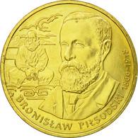 Monnaie, Pologne, Polish Travellers & Explorers, 2 Zlote, 2008, TTB, Laiton - Polonia