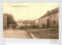 MEIX - LE - TIGE ..--   1914 Vers NAMECHE ( Mme Jean D'BEN - ROBAZ ?? ) . Voir Verso . - Saint-Léger