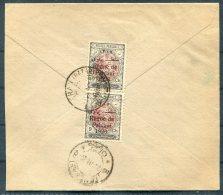 1926 Persia Iran Regne De Pahlavi Overprints Registered Rate Cover. Teheran - Sultanabad 9 Ch X 2 - Iran