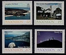A0964 ASCENSION 1983,  SG 337-40  Island Views,  MNH - Ascension (Ile De L')