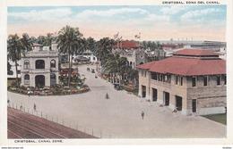 POSTAL DE PANAMA DE CRISTOBAL, ZONA DEL CANAL (L. MADURO) - Panamá