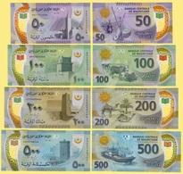 Mauritania Set 50, 100, 200, 500 Ouguiya P-new 2017 (2018) UNC - Mauritanie