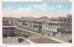 POSTAL DE PANAMA DE CALLE DEL FRENTE COLON (L. MADURO) - Panamá