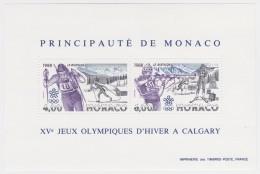 Monaco   .   Yvert    .  Bloc  40       .    **     .   Neuf  SANS  Charniere    . /  MNH - Blocs