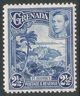 Grenada. 1938-50 KGVI. 2½d MH. P12½ SG 157 - Grenada (...-1974)