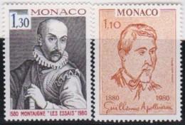 Monaco   .   Yvert     1227/1228        .     **      .     Neuf SANS Charniere      .    /    .    MNH - Unused Stamps