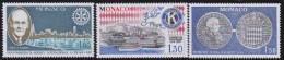 Monaco   .   Yvert     1279/1281       .     **      .     Neuf SANS Charniere      .    /    .    MNH - Unused Stamps